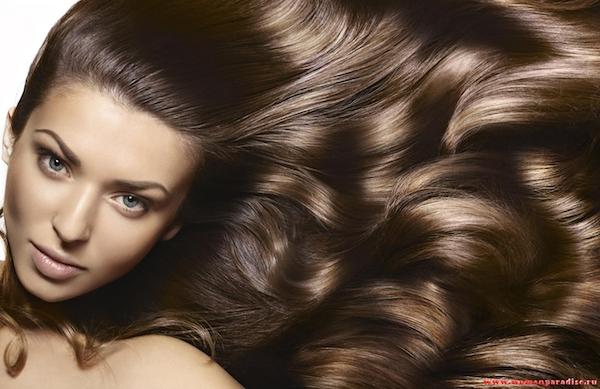 Окрашивание волос в каштановый оттенок (рис. 9)