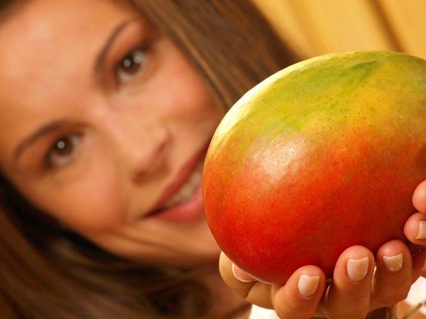 Маска с манго (рис. 1)