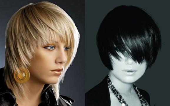 прически для полудлинных волос с фото