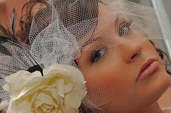 Галерея свадебных причесок для коротких волос (рис. 3)