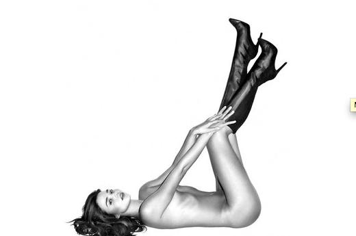 Are You Ready, Boots? Обнаженная Миранда Керр для Harper's Bazaar (рис. 1)