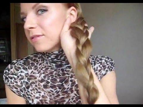 Очень интересный вариант плетения косы (рис. 5)