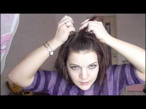 Простая укладка для коротких, средних и длинных волос (рис. 15)