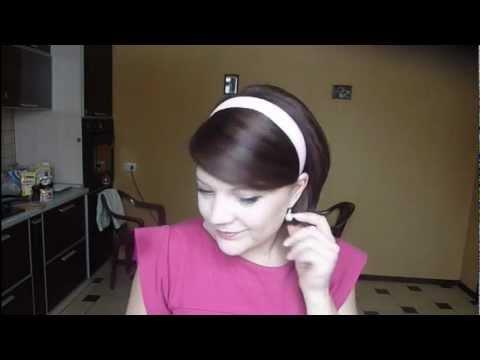 Элегантное ретро: укладка для коротких и средних волос (рис. 13)