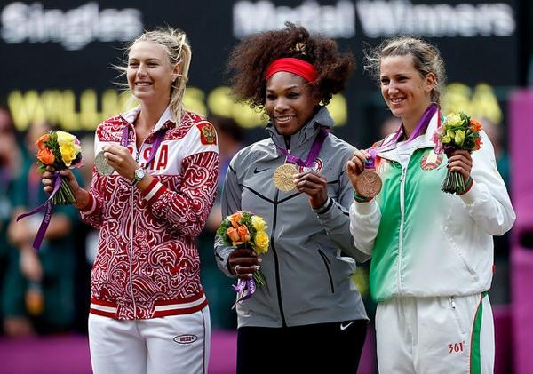 Мария Шарапова не смогла победить Серену Уильямс (рис. 1)