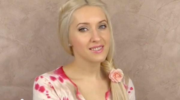 Прически для длинных волос 2012. Идеальная коса - рыбий хвост (рис. 7)