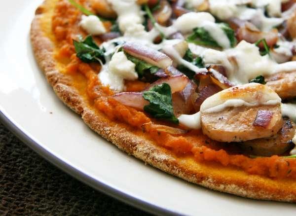 Пицца с тыквой (рис. 30)