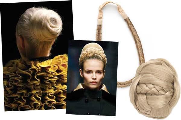 Волосы на заколках - чудесный способ всегда быть сногсшибательно красивой (рис. 10)