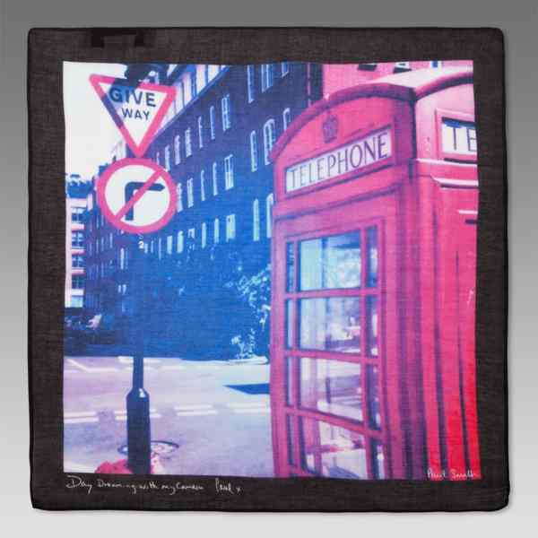 Платок с видом Лондона (рис. 5)