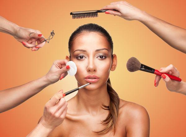 Приемы нанесения макияжа (рис. 8)