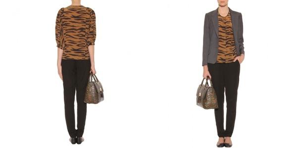 Блуза Mulberry: хищная грация в шелковом исполнении (рис. 8)