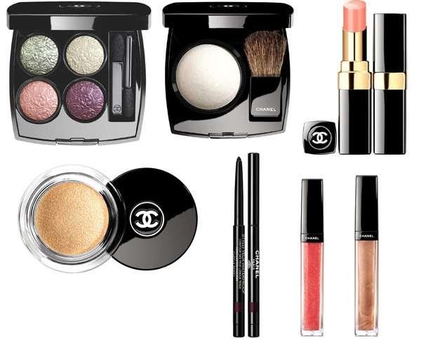 В новой коллекции макияжа Les Delices de Chanel появились нежные весенние оттенки (рис. 9)