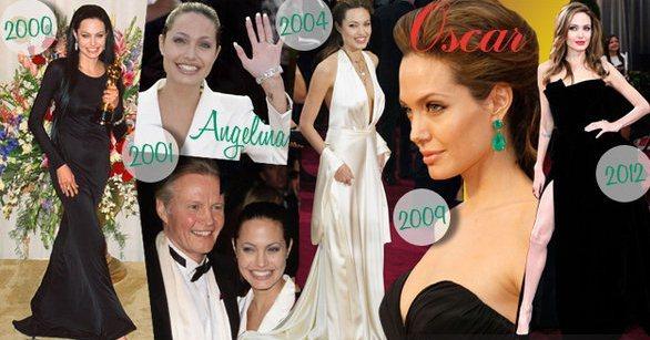 Пять неповторимых выходов Анджелины Джоли на получение «Оскара» (рис. 10)