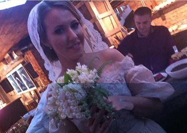Свадьба года: Ксения Собчак вышла замуж (рис. 1)