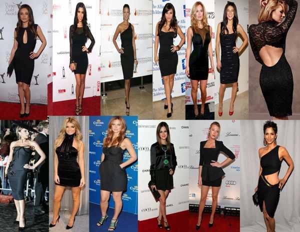 Как носить чёрное платье без вреда для красоты (рис. 3)