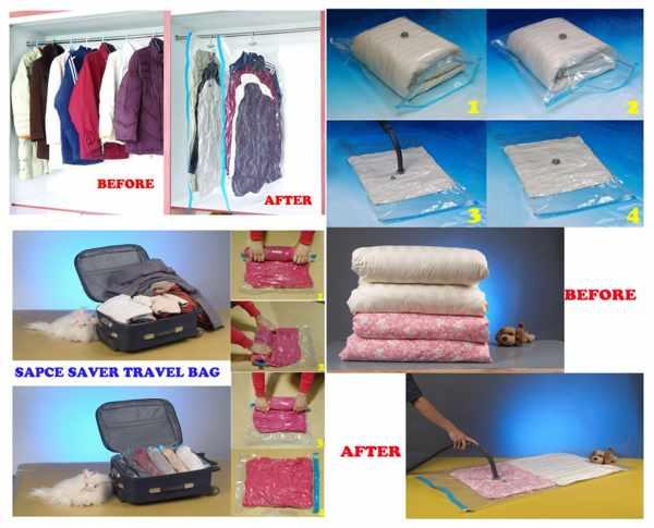 Вакуумные пакеты – отличное решение для ваших вещей! (рис. 8)
