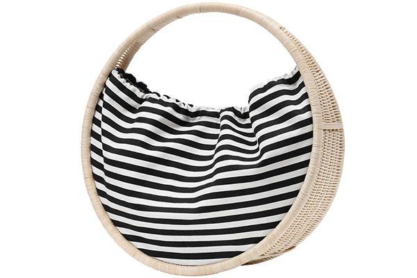Стильная пляжная сумка обруч от Kate Spade (рис. 1)