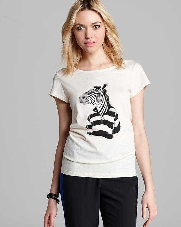 Футболка с зеброй от Marc by Marc Jacobs (рис. 5)