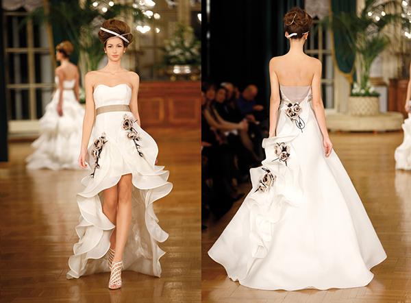 Какие свадебные платья в моде в 2013 году? (рис. 10)