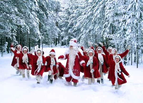 Дед Мороз в Великом Устюге смотрит сны о детских мечтах (рис. 8)