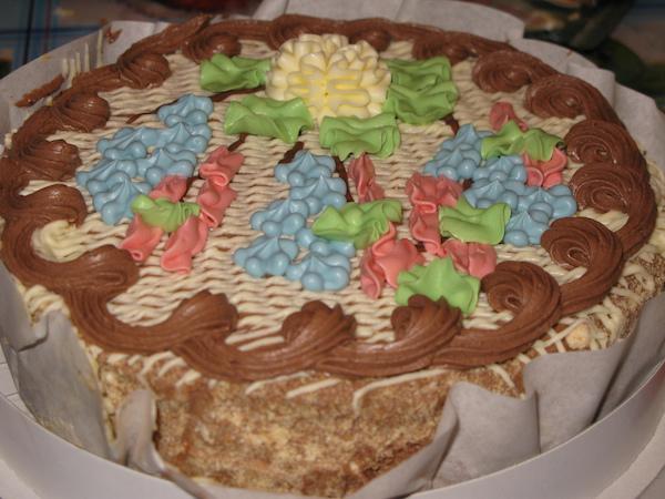 Киевский торт в домашних условиях (рис. 5)