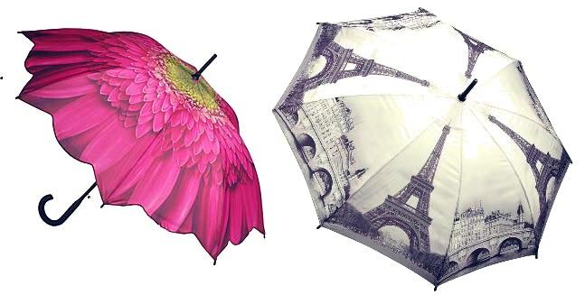 Зонт – незаменимый и модный осенний аксессуар (рис. 9)