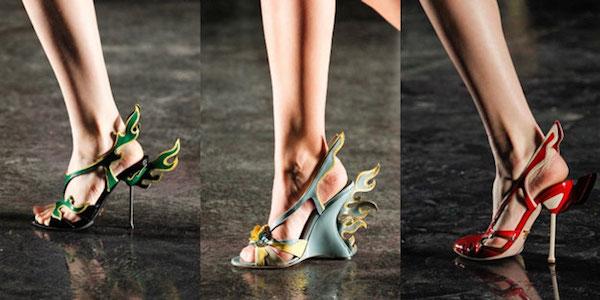 Женская обувь для лета, балетки, босоножки и другая (рис. 21)