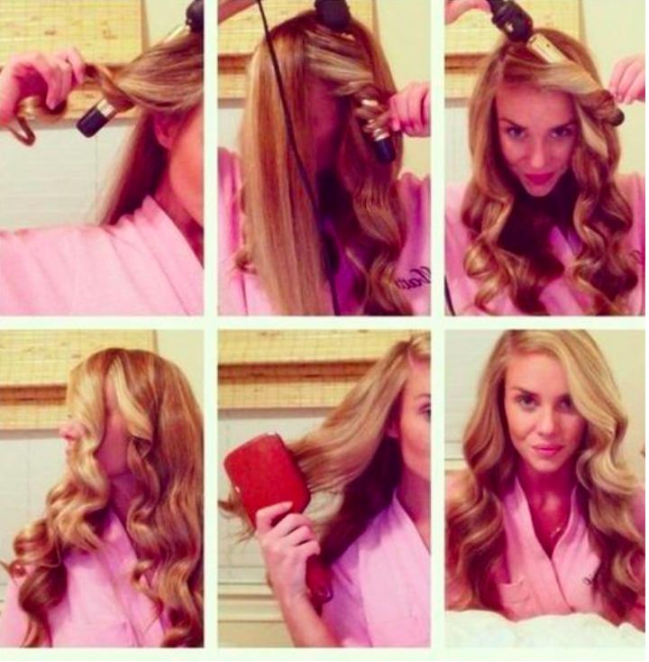 Как в домашних условиях сделать кудри на средние волосы в домашних условиях