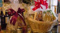 Корзина как оформление подарка к празднику (рис. 5)