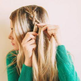 Прическа шикарной косы в фотографии (рис. 3)
